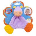 Слюновпитывающий грызун-погремушка Biba Toys Бегемотик (616JF hippo)