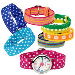 Набор браслетов с часами ALEX (119W)