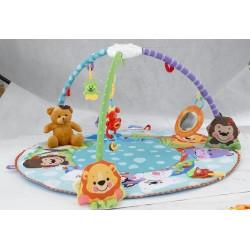 Развивающий коврик Веселый зоопарк M 5382