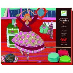 Художественный набор Djeco Раскраска балерина 08620