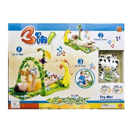 Развивающий коврик Тропики 526 CD Bambi