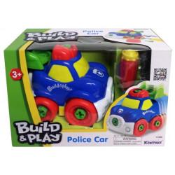Конструктор Keenway Полицейская машина, Строй и играй 11936