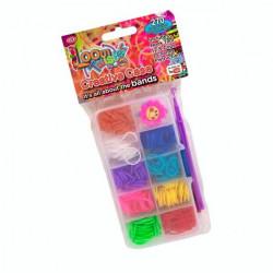 Пополнение к оригинальному набору для плетения цветными резинками Loom 270 резинок SV11789