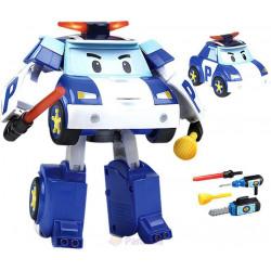 Акция! Поли трансформер с подсветкой 12,5см Робокар Поли (Robocar Poli) 83094