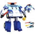 Поли трансформер с подсветкой 12,5см Робокар Поли (Robocar Poli) 83094