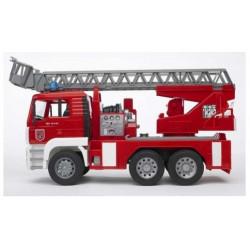 Пожарный грузовик с лестницей(+водяная помпа+свет и звук),М1:16 (02771)
