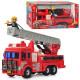 Пожарная машина DS 926 инерц., высувная стрела, фигурка, кор., 47,5-23,5-15 см