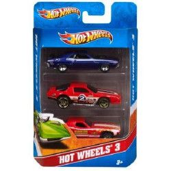 Подарочный набор автомобилей Hot Wheels (3 шт.) K5904