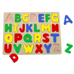 Пазл Bino Wooden Puzzle ABC 88045
