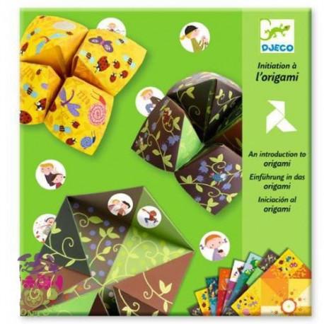 Оригами-гадалка Djeco Птицы DJ08764 уценка
