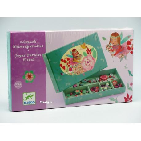 Набор украшений Цветочный рай Djeco 06572 уценка