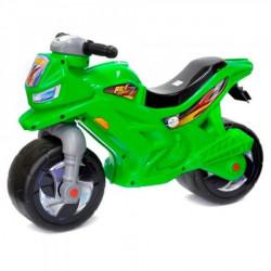 Мотоцикл 2-х колесный с сигналом зеленый ОРИОН 501 в.3
