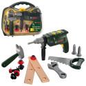 Набор инструментов 8416 дрель, пила, молоток, чемодан