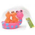 Набор игрушек для ванны Baby Team Веселые друзья (9001) уценка