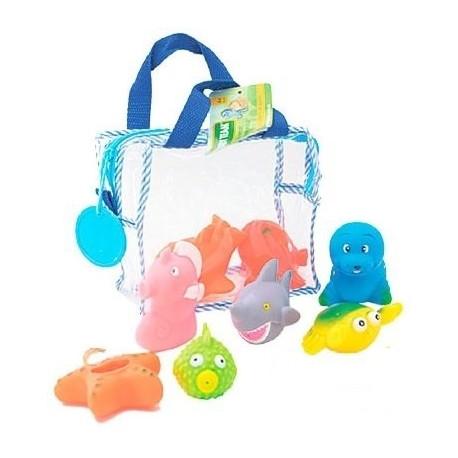 Набор игрушек для ванны BABY TEAM Подводный мир (9005)