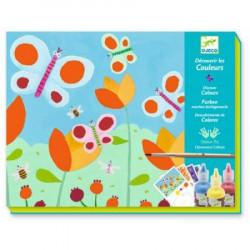 Набор для творчества раскраска Бабочки Djeco 08961 уценка