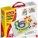Набор для занятий мозаикой Quercetti 10 мм фишки, 100 шт. + доска (2122-Q)