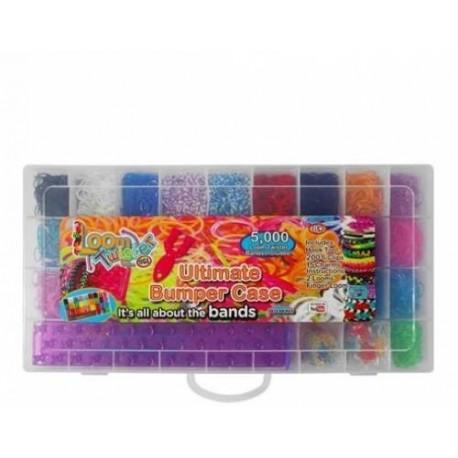 Набор Loom для плетения цветными резинками, 5000 резинок SV11833
