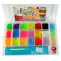 Набор Loom для плетения цветными резинками, 2500 резинок (500 ароматизированны)SV1182 Уценка!