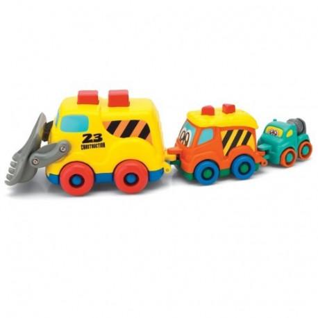 Набор Keenway Машинки-строители 31249