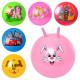 Мяч для фитнеса Bambi с рожками MS 0484
