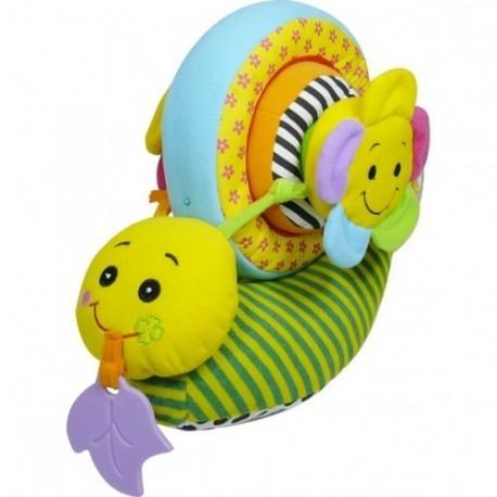 Мягкая активная игрушка Biba Toys Улитка-конструктор (370BS)