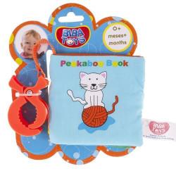 Мягкая книжка на прищепке Biba Toys Путешествие PEEK-A-BOO (207BB)