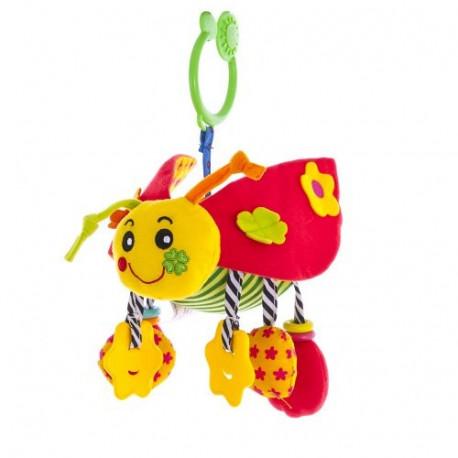 Мягкая активная игрушка Biba Toys Божья коровка (704BS)