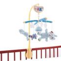 Музыкальный мобиль Biba toys Счастливые мишки, голубой 038BM