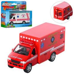 Машинка Kinsmart скорая помощь,пожарная KS 5259 W