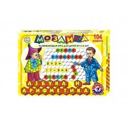 мозаика Азбука и арифметика ТехноК (рос) арт.2087