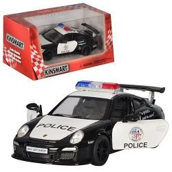Машинка KT 5352 WP инерц., мет., полиция, 1:36
