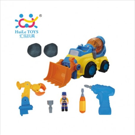 Машинка-конструктор 566 CD Huile Toys