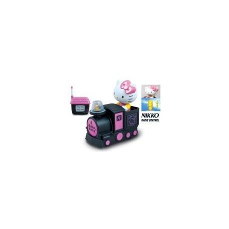 Машинка-самолёт игрушечная на р/у Go Go Kitty Train (Nikko 180028B) уценка