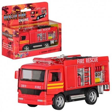 Машинка KS 5110 W инерц., мет., пожарная