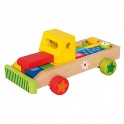 Машина с кубиками Bino 84152