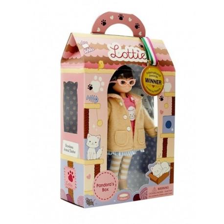 Кукла Лотти Защитница животных, Lottie 027 уценка