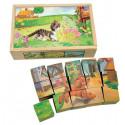 Кубики Домашние животные 84175