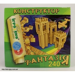Конструктор Фантазия 240 дет, 0003