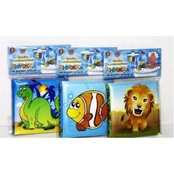 Книжка для ванной Bambi пищалка, 12 видов HU 70038