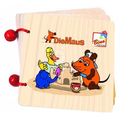 Книжка с рисунками Мышка Bino 13501 уценка