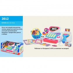 Кассовый аппарат 2012, свет.,муз.,продукты