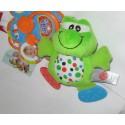 Игрушка-подвеска с грызунком Лягушонок (124BR)