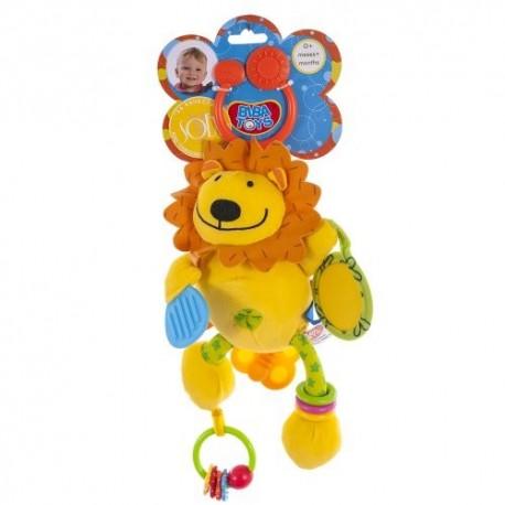Игрушка-подвеска Biba Toys Активный львенок (702JF lion)
