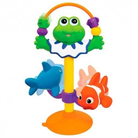 Игрушка на присоске Kiddieland Жабка звук (047829)