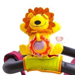 Игрушка на коляску Biba Toys Активный львенок (077JF)