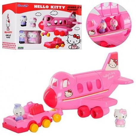 Игровой набор Самолет Hello Kitty 65002 UB01 фигурки 2 шт., кор.
