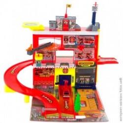 Игровой набор Пожарная станция 3-и уровня с машиной Realtoy (28552)уценка