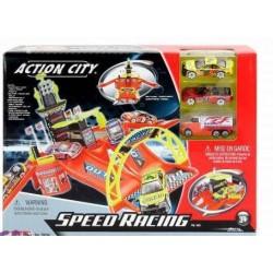 Игровой набор Realtoy Скоростные гонки с 3 машинами 28534 уценка
