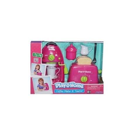 Игровой набор Кофеварка и тостер 21672